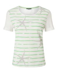 Dash | Multicolor Stripe Star Fish Top | Lyst