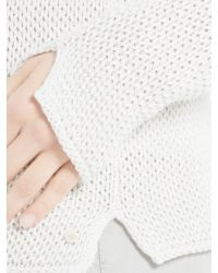 Marc O'polo - Gray Knitted Sweater - Lyst