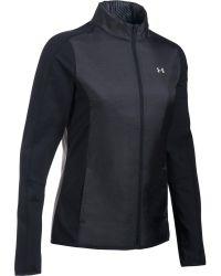 Under Armour | Black Cgi Full Zip Jacket for Men | Lyst