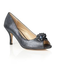 Lotus | Blue Quill Peep Toe Courts | Lyst
