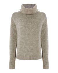 Tommy Hilfiger | Gray Thdw Round Neck Sweater | Lyst