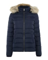 Tommy Hilfiger - Blue Thdw Basic Down Jacket - Lyst