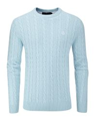 Henri Lloyd | Blue Kramer Regular Crew Neck Knit Jumper for Men | Lyst