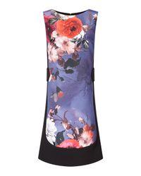 James Lakeland | Blue Front Print Sleeveless Dress | Lyst