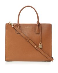 Michael Kors - Brown Mercer Large Tote Bag - Lyst