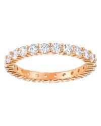 Swarovski | Metallic Vittore Ring | Lyst