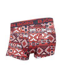 Björn Borg | Red Nordic Print Trunk And Socks Gift Set for Men | Lyst