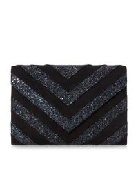 Dune | Metallic Balinda Glitter Mix Clutch Bag | Lyst