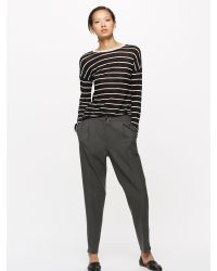 Jigsaw - Multicolor Relaxed Flannel Trouser - Lyst