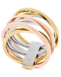 Michael Kors - Metallic Mkj4421998 Ladies Ring - Lyst