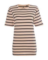 Levi's   Multicolor Line8 Striped Short Sleeve Tee   Lyst