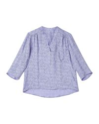 Dash | Green Shooting Star Lilac Blouse | Lyst