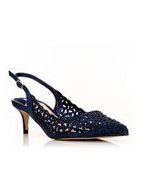 Moda In Pelle | Blue Lunas Court Shoes | Lyst
