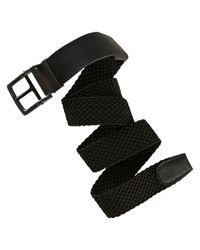 Nike | Black Stretch Woven Belt for Men | Lyst