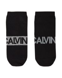 Calvin Klein   Black Large Logo Angle Sock, 2-pack for Men   Lyst