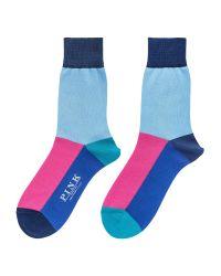 Thomas Pink | Purple Wright Socks for Men | Lyst