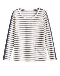 Sandwich | White Textured Stripe Top | Lyst