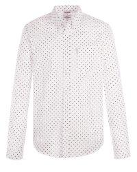 Ben Sherman | White Long Sleeve Classic Polka Dot Shirt for Men | Lyst