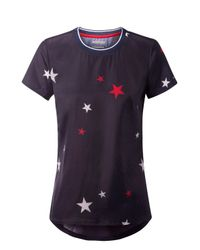 Tommy Hilfiger | Blue Print Star Top | Lyst