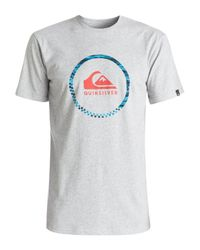 Quiksilver | Gray Classic Active Logo 3.0 T-shirt for Men | Lyst