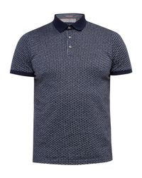 Ted Baker | Blue Talford Geo Print Polo Shirt for Men | Lyst