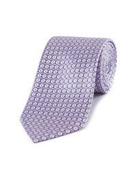 Skopes   Purple Fancy Silk Tie for Men   Lyst
