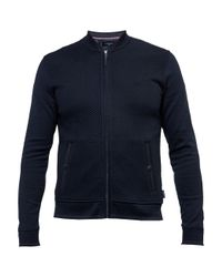 Ted Baker | Blue Onslow Quilted Bomber Jacket for Men | Lyst