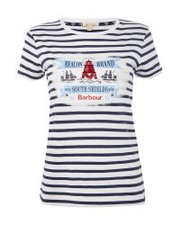 Barbour | Blue Blakeney T Shirt | Lyst