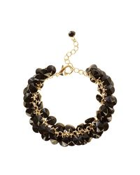 Coast - Black Deena Beaded Bracelet - Lyst