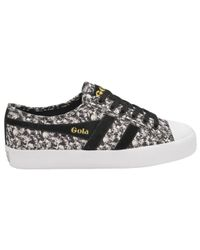 Gola | Black Coaster Liberty Ab Lace Up Trainers | Lyst