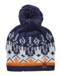 Timberland - Blue Baby Boys Pull On Hat for Men - Lyst
