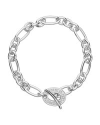 Links of London | Metallic Signature Charm Chain Bracelet | Lyst