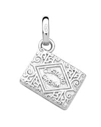 Links of London | Metallic Sterling Silver Custard Cream Biscuit Charm | Lyst