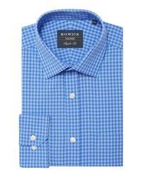 Howick - Blue Medway Gingham Check Shirt for Men - Lyst