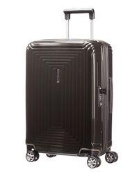 Samsonite - Neo Pulse Metallic Black 4 Wheel 55cm Cabin Case for Men - Lyst