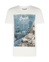 Jack & Jones - White Men's Pretty City Graphic T-shirt for Men - Lyst