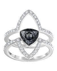 Swarovski - Metallic Fantastic Ring - Lyst