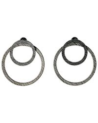 Pilgrim | Metallic Zoey Hematite Earrings | Lyst