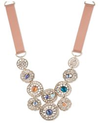 Lonna & Lilly | Metallic Front Long Necklace | Lyst