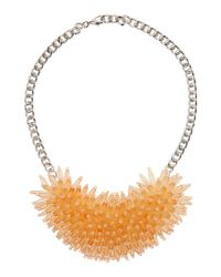 Marella | Brown Max Oversized Beaded Necklace Cipria | Lyst