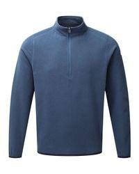 Tog 24 - Blue Sixa Mens Tcz 100 Fleece Zip Neck for Men - Lyst