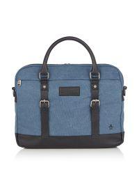 Original Penguin - Blue Tides Document Bag for Men - Lyst
