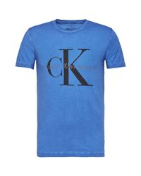 CALVIN KLEIN 205W39NYC - Blue Tribu Graphic T-shirt for Men - Lyst