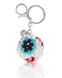 House of Holland - White Eyeball Charm - Lyst
