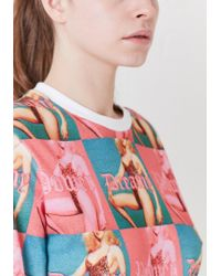 House of Holland - Pink Dreamy/power Skater T-shirt - Lyst