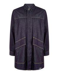 House of Holland | Blue Lee Oversized Denim Shirt for Men | Lyst
