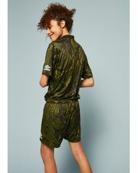 House of Holland | Umbro Snake Print Swim Shorts (green) | Lyst