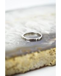 Maria Black | Metallic Silver Serra Diamond Ring | Lyst