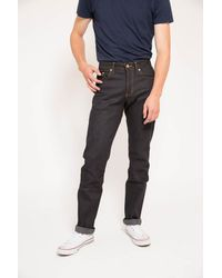 Naked & Famous | Blue Weird Guy Deep Indigo Stretch Selvedge for Men | Lyst