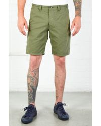 Rag & Bone | Green Army Standard Issue Short for Men | Lyst